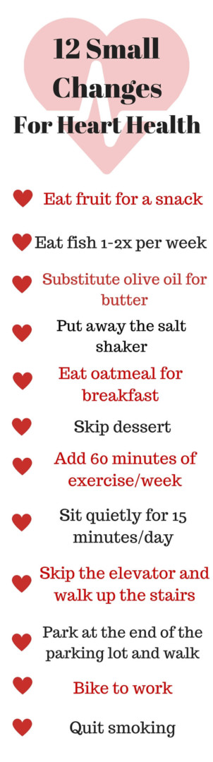 12-Small-Changes-For-Heart-Health